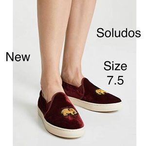 Soludos celestial slip on sneakers 7.5
